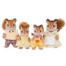 Famille écureuil roux - Sylvanian Families - 4172