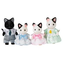 Famille chat bicolore - Sylvanian Families - 5181