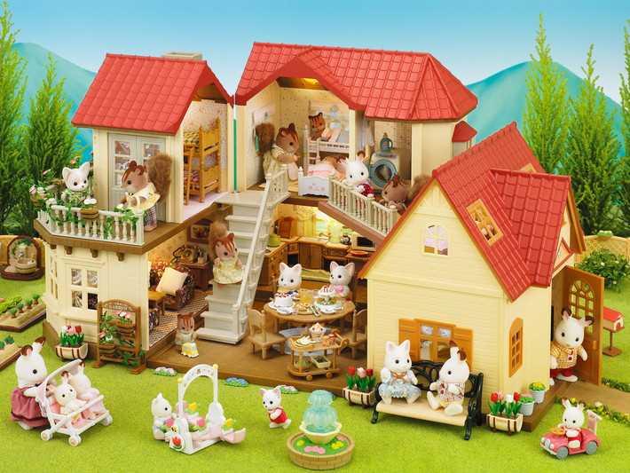 Grande maison tradition éclairée - Sylvanian Families - 2752