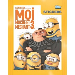Moi Moche & Méchant 3 - stickers