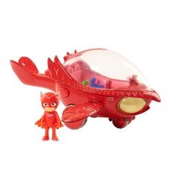 Véhicule Deluxe Pyjamasques Rouge avec figurine Bibou