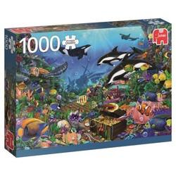 Puzzle 1000 pièces - Joyaux des profondeurs