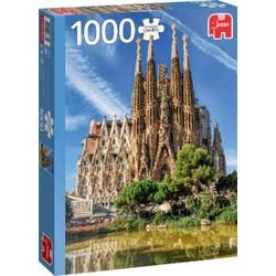 Puzzle 1000 pièces - Sagrada Familia, Barcelone