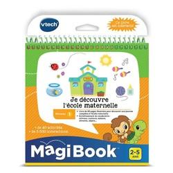 """Magibook : Livre """"Je Découvre l'Ecole Maternelle"""""""