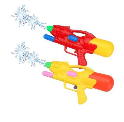 Set de 2 pistolets à eau de 34 cm