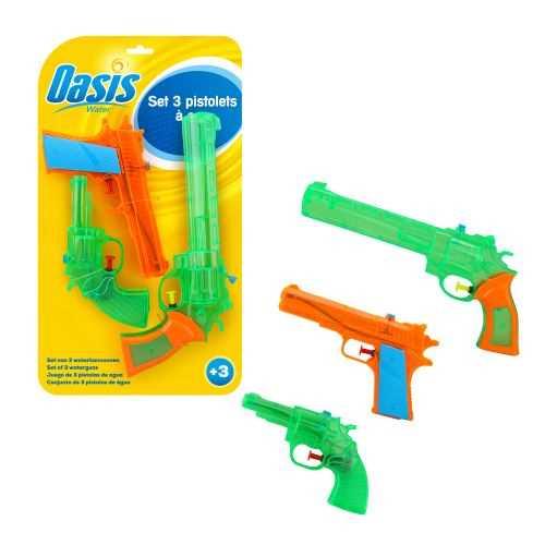 Set de 3 pistolets à eau