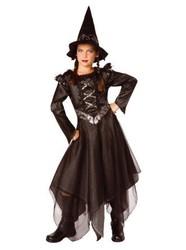 Déguisement Halloween - Sorcière de minuit - Taille: 10/12 ans