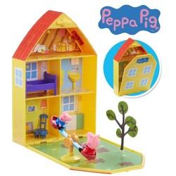 Peppa Pig - La Maison de Peppa avec jardin et 2 personnages
