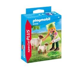 Fermière avec moutons - PLAYMOBIL Special Plus - 9356