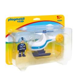 Hélicoptère de police - PLAYMOBIL 1.2.3 - 9383