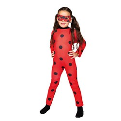 Miraculous - Costume Ladybug - Taille 5/6 ans