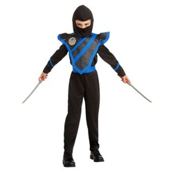 Déguisement de Ninja bleu - Taille 110