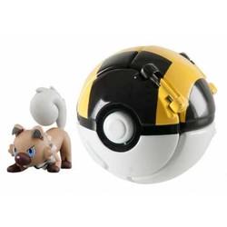 Pokémon - Throw 'n Pop Rocabot + Hyper Ball