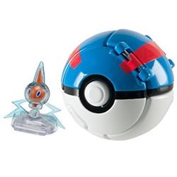 Pokémon - Throw 'n Pop Motisma + Super Ball