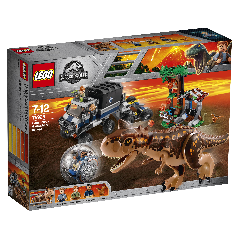 La fuite de Carnotaurus de la Gyrosphère - LEGO Jurassic World - 75929