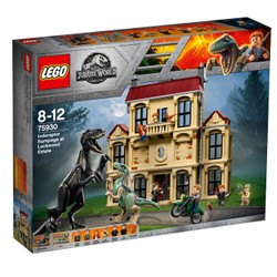 La fureur de Indoraptor à Lockwood Estate  - LEGO Jurassic World - 75930