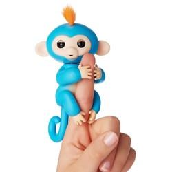 Fingerlings bébé singe bleu