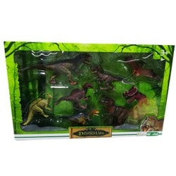Grand coffret de 8 dinosaures