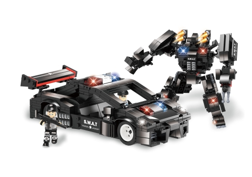 Robot transformable SWAT