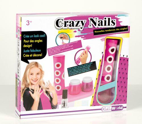 Crazy nails Kid s World