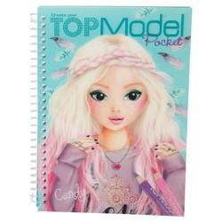 Album de coloriage 3D Top Model