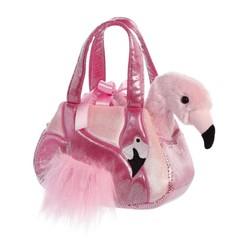 Luxe sac flamingo