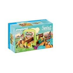 Lucky et  Spirit avec box  - PLAYMOBIL Spirit Riding Free - 9478