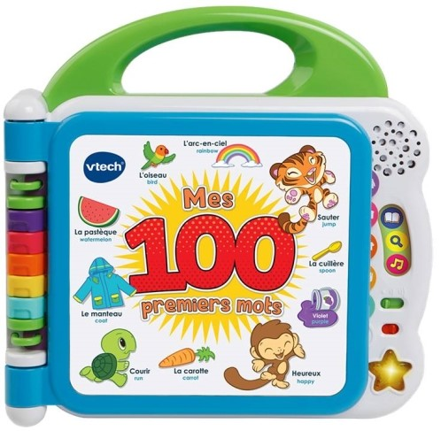 Mes 100 premiers mots - Premier imagier bilingue FR/EN