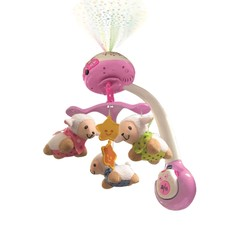 Lumi Mobile Compte-Moutons Rose