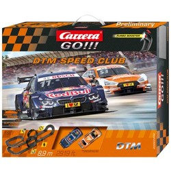 Circuit Carrera Go!!! DTM Speed Club - 890 cm