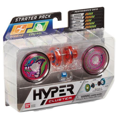 Coffret de démarrage yoyo Hyper Cluster