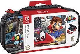Sacoche de Transport Mario Odyssey pour Nintendo Switch