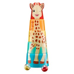 Tour géante Sophie la girafe