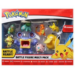 Coffret de 8 figurines Pokémon