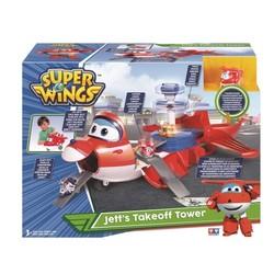 """Super Wings - Playset Jett l'Avion + 1 figurine Jett """"Pop-Up"""""""