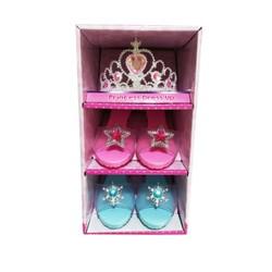 Cosplay - Set de 2 paires de chaussures avec Tiare