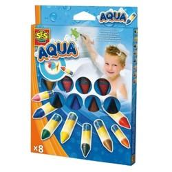 SES aqua crayons bain