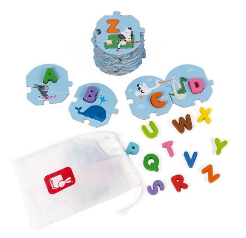 Puzzle J Apprends l Alphabet