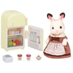 Maman lapin chocolat avec réfrigérateur - Sylvanian Families - 5014