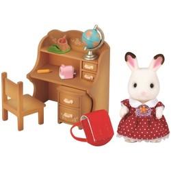 Fille lapin chocolat bureau - Sylvanian Families - 5016