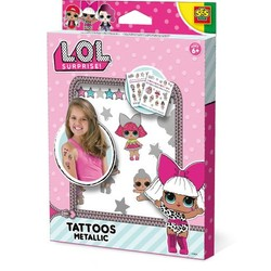 Tatouages métallisés L.O.L. Surprise