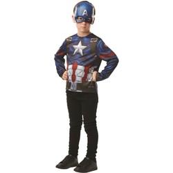 Avengers - Top Captain America avec masque