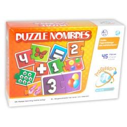 Puzzle nombres 45 pcs