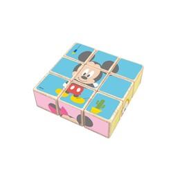 Disney puzzle 9 cubes en bois