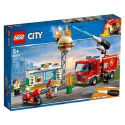 L'intervention des pompiers au restaurant de hamburgers - LEGO City - 60214