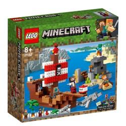 L'aventure du bateau pirate - LEGO Minecraft - 21152