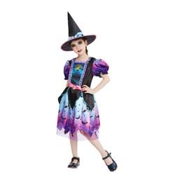 Déguisement sorcière Halloween - Taille 128