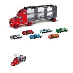 Camion Transporteur avec 6 Véhicules