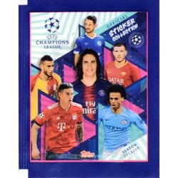 UEFA Champion League 2018/2019 - 5 stickers