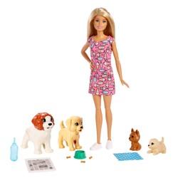 Barbie - Coffret Barbie et ses chiens